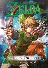 The legend of Zelda - Twilight princess T4, manga chez Soleil de Himekawa
