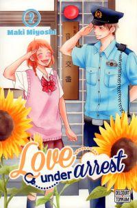 Love under arrest T2, manga chez Delcourt Tonkam de Miyoshi