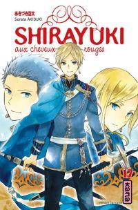 Shirayuki aux cheveux rouges T17, manga chez Kana de Akizuki