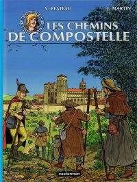 Les Voyages de Jhen : Les chemins de Compostelle (0), bd chez Casterman de de la Croix, Plateau