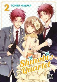 Shinobi quartet T2, manga chez Pika de Himuka