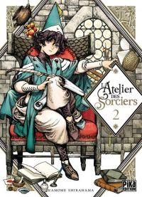 L'atelier des sorciers T2, manga chez Pika de Shirahama