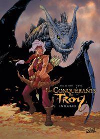 Les conquérants de Troy, bd chez Soleil de Arleston, Tota, Lamirand