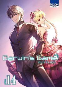 Darwin's game T14, manga chez Ki-oon de FLIPFLOPs
