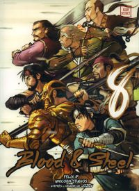 Blood & steel  T8, manga chez Kotoji de Jozev, Ip, Unicorn studios