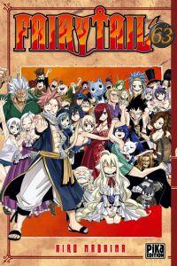 Fairy Tail T63, manga chez Pika de Mashima