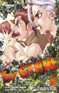 Dr Stone T2, manga chez Glénat de Inagaki, Boichi