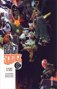 Black Science T7 : Le silence de l'Aède (0), comics chez Urban Comics de Remender, Scalera, Dinisio