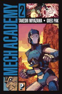 Mech academy T2, comics chez Casterman de Pak, Miyazawa, Farrell
