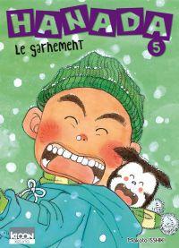 Hanada le garnement T5, manga chez Ki-oon de Isshiki