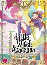 Little witch academia T1, manga chez Nobi Nobi! de Sato, Trigger, Yoshinari