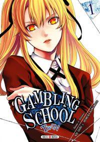 Gambling school twin T1, manga chez Soleil de Kawamoto, Saiki