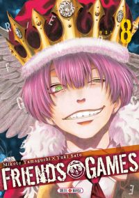Friends games  T8, manga chez Soleil de Yamaguchi, Yûki