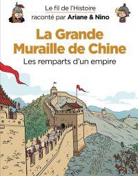 Le Fil de l'Histoire T9 : La grande muraille de Chine (0), bd chez Dupuis de Erre, Savoia