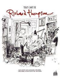 Tout l'art de Richard Thompson : Tout l'art de Richard Thompson (0), comics chez Urban Comics de Apatoff, Rhode, Galifianakis, Watterson, Sparks, Thompson