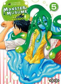 Monster musume T5, manga chez Ototo de Okayado