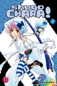 Shugo chara – Edition double, T3, manga chez Nobi Nobi! de Peach-Pit