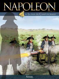 Napoléon T4 : La paix de Campoformio (0), bd chez Kennes éditions de Osi, Gourdin