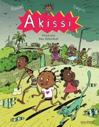 Akissi T8 : Mission pas possible (0), bd chez Gallimard de Abouet, Sapin