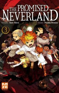 The promised neverland T3, manga chez Kazé manga de Shirai, Demizu