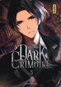 Dark grimoire T3, manga chez Kana de Haru