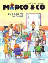Marco & co T2 : On choisit pas sa famille (0), bd chez Gallimard de Bec, Jouvray