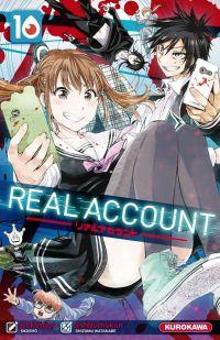 Real account T10, manga chez Kurokawa de Okushou, Watanabe