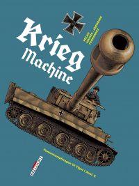 Machines de guerre T2 : Krieg machine (0), bd chez Delcourt de Pécau, Mavric, Andronik, Fernandez