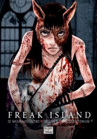 Freak island  T6, manga chez Delcourt Tonkam de Hokazono