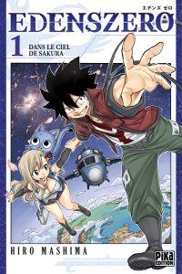 Edens zero T1, manga chez Pika de Mashima