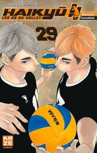 Haikyû, les as du volley T29, manga chez Kazé manga de Furudate