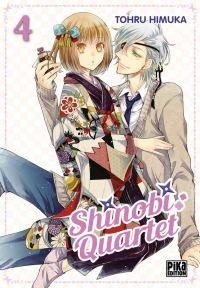 Shinobi quartet T4, manga chez Pika de Himuka
