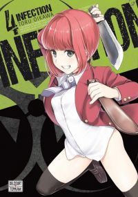 Infection T4, manga chez Delcourt Tonkam de Oikawa