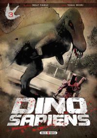 Dino-sapiens T3, manga chez Soleil de Yasui, Mori