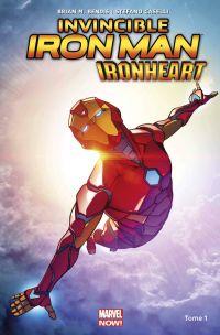 Invincible Iron Man : Ironheart : Naissance d'une héroïne (0), comics chez Panini Comics de Bendis, Caselli, Gracia
