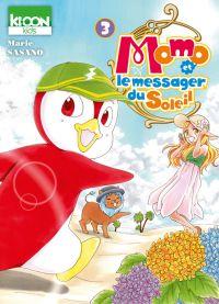 Momo et le messager du soleil T3, manga chez Ki-oon de Sasano