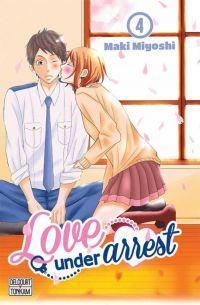 Love under arrest T4, manga chez Delcourt Tonkam de Miyoshi