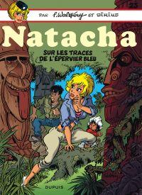 Natacha T23 : Sur les traces de l'épervier bleu (0), bd chez Dupuis de Walthéry, Sirius, Cerise