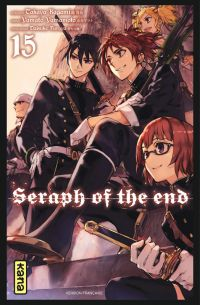 Seraph of the end  T15, manga chez Kana de Kagami, Yamamoto