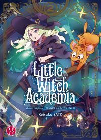 Little witch academia T2, manga chez Nobi Nobi! de Yoshinari, Sato
