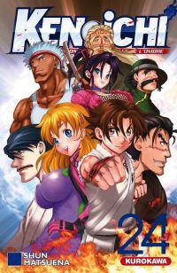 Ken-Ichi – Les disciples de l'ombre 2, T24, manga chez Kurokawa de Matsuena