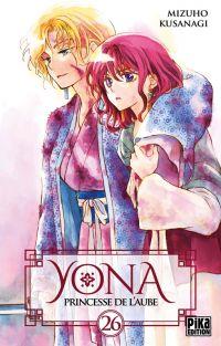 Yona, princesse de l'aube  T26, manga chez Pika de Mizuho