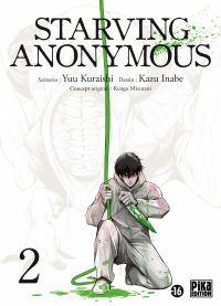Starving Anonymous T2, manga chez Pika de Kuraishi, Inabe