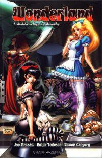 Wonderland T2 : Au-delà du Pays des Merveilles (0), comics chez Graph Zeppelin de Gregory, Bonk, Rio, Leister, Ruffino, Mason