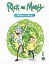 Rick and Morty : L'Artbook officiel (0), comics chez Hi Comics de Siciliano, Collectif