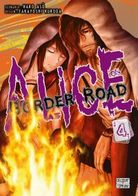 Alice on border road T4, manga chez Delcourt Tonkam de Haro, Kuroda