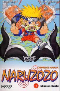 Naruzozo - L'apprenti nainja T1 : Mission sushi (0), manga chez Clair de Lune de Kato, Kurito