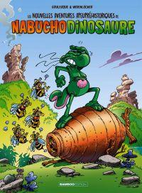 Les Nouvelles aventures apeupréhistoriques de Nabuchodinosaure T2, bd chez Bamboo de Goulesque, Widenlocher
