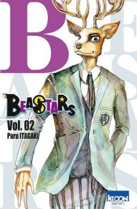 Beastars T2, manga chez Ki-oon de Itagaki