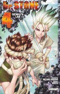 Dr Stone T4, manga chez Glénat de Boichi